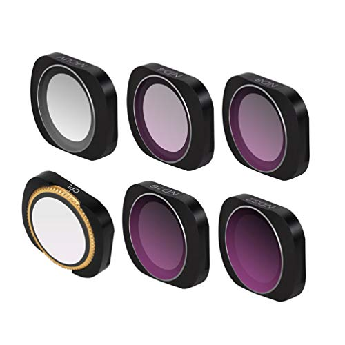 Preisvergleich Produktbild Adjastable Mini Portable Polarizer Lens Filter Protect Cover MCUV+CPL+ND4 / 8 / 16 / 32 HD Camera For DJI OSMO POCKET Camera Lens