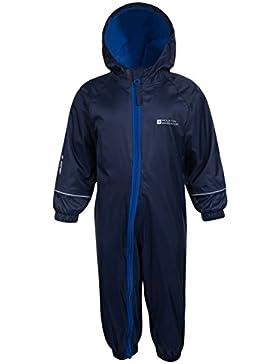 Mountain Warehouse Spright Bedruckter Regenanzug - Atmungsaktiv, Gefüttert, Wasserfest, versiegelte Nähte Anzug...