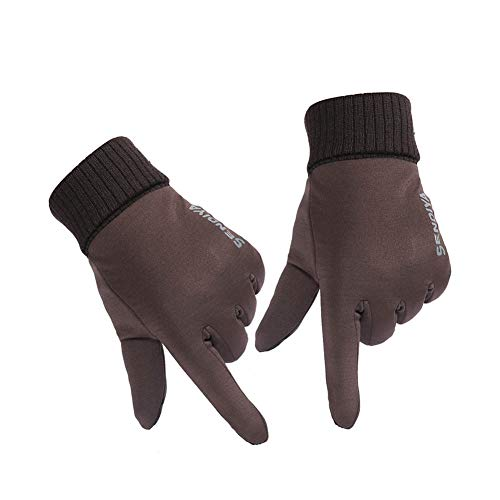 Alftek 1 Paar Unisex-Winter-Touchscreen-Handschuhe Soft Liner Thermo-Walking-Sportfäustlinge -