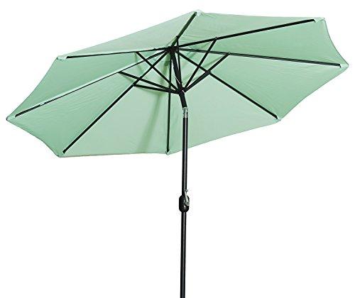 Gartenfreude Sonnenschirm - Durchmesser 270 cm - UV 50+ Grün