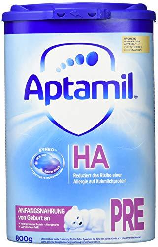 Aptamil HA PRE mit SYNEO Anfangsnahrung von Geburt an, 1er Pack (1 x 800 ml) - Familie, Gesundheit, Lebensmittel