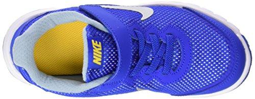 Nike Jungen Flex Experience 4 (Psv) Laufschuhe Multicolor (Hypr Cblt / Mtllc Slvr-Vrsty Mz)