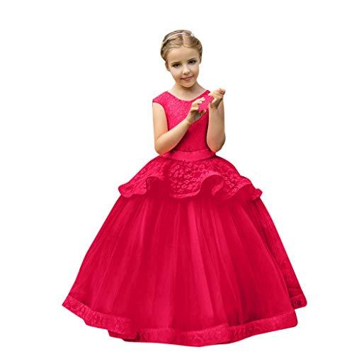 Kinder Mädchen Sleeveless Prinzessin Formale Hochzeitsgesellschaft Tutu Kleid -