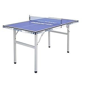 DONIC Midi Tisch Pro Fun Tischtennisplatte, Silbergrau-Blau, One Size