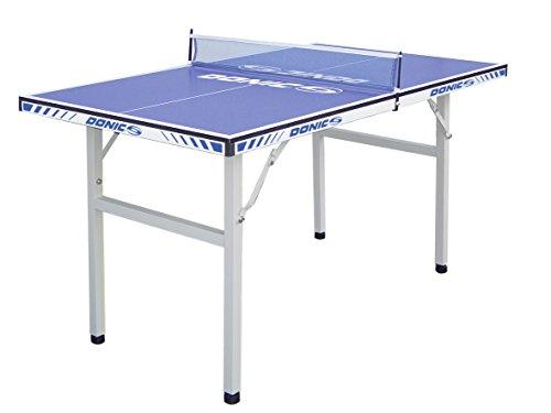 DONIC Midi Tisch Pro Fun Tischtennisplatte Silbergrau-Blau One Size