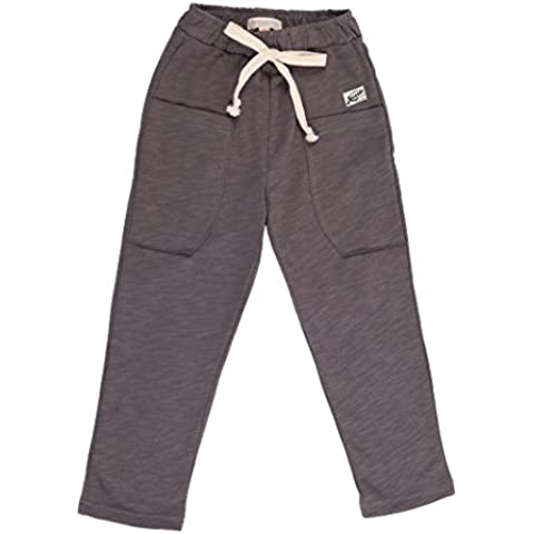 Oceankids Pantaloni casual in cotone da bambino con cintura elastica
