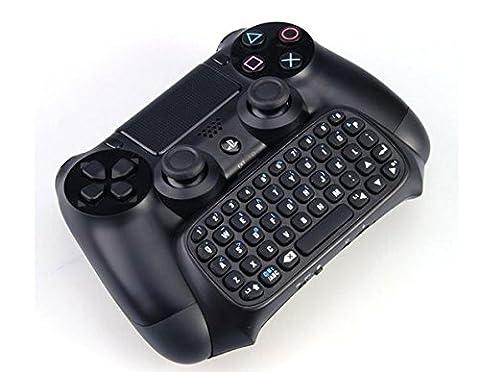 Playstation 4 Tastatur für Controller – drahtlos per Bluetooth für PS4 / PS4 slim / PS4 pro Dualshock (Ps Network Online)