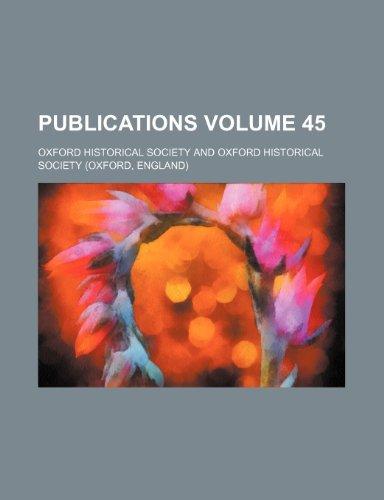 Publications Volume 45