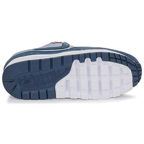 release date: a9918 ac093 Nike Air Max 1 (GS) Obsidian Mist  Monsoon Blue-Laser Fuchsia   807605-400    FOOTY.COM