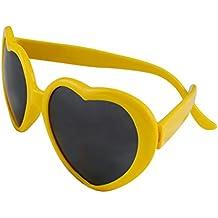 117e87f83e493f Funie Fashion rétro drôle d été amour coeur forme Lolita lunettes de soleil  cadeaux