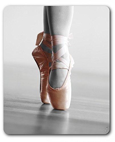 Preisvergleich Produktbild 1art1 89232 Ballett - Spitzenschuhe, Relevé, Farbakzent Mauspad 23 x 19 cm