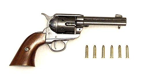 Preisvergleich Produktbild Revolver Colt Peacemaker mit 6 Dekopatronen