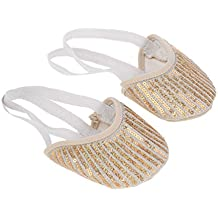 MagiDeal 1 Par Zapatos de Danza Ballet Gimnasia Rítmica para Mujeres Niñas Pies Cómodo Bien Protegido Seguridad - S