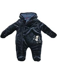 SALT AND PEPPER Baby-Jungen Schneeanzug Nb Jumpsuit Little Star