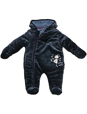 SALT AND PEPPER Baby - Jungen Schneeanzug Nb Jumpsuit Little Star