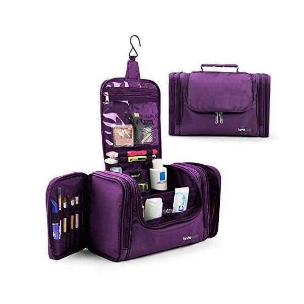 Lavievert Toiletry Bag/Makeup Organizer/Cosmetic Bag/Portable Travel Kit Organizer/Household Storage Pack/Bathroom…