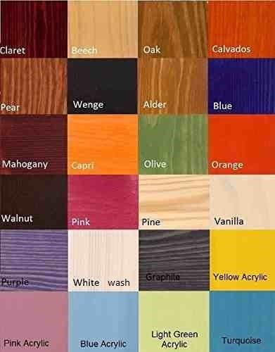 Bunk Bed SAMBOR, Children Triple Bunk Bed - Pine Wood - 24 Colours - 4 Types of Mattresses Available - Size UK Standard 200cm x 97cm x 175cm)