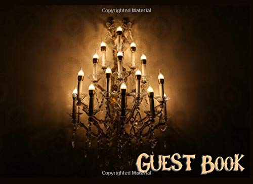 (Guest Book: Not just for Halloween! Sign-in Guest Registry Book For Spooky Parties And Meetups (Spooky Events Books, Band 3))