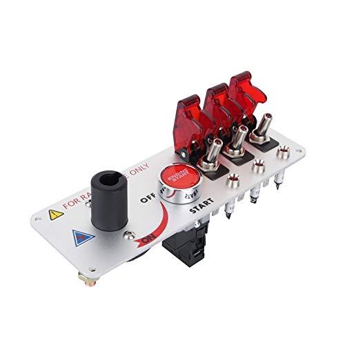 Yosoo El competir con auto del coche de 12V LED Toggle Interruptor...