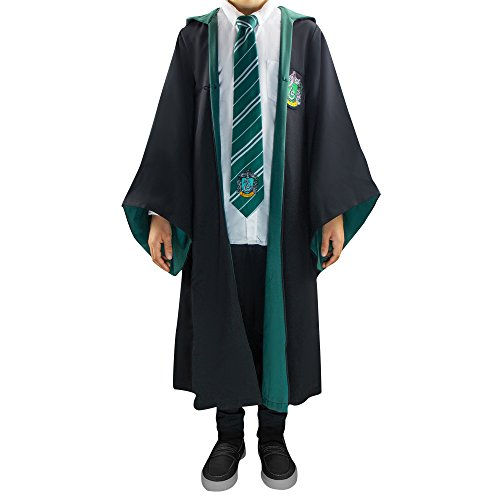 Cinereplicas Harry Potter - Zaubererkleid - Offiziell (Large Erwachsene, Slytherin) (Erwachsene Slytherin Robe)