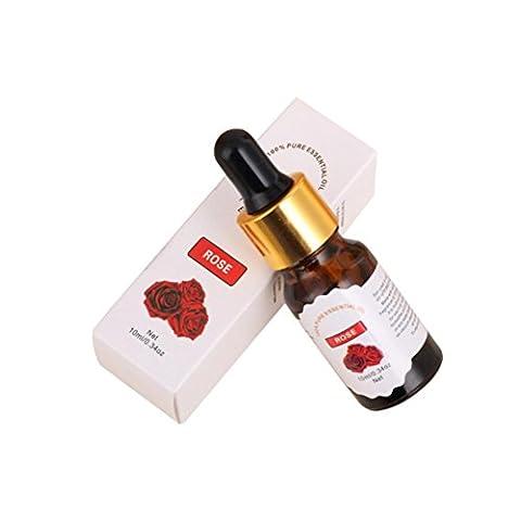 Huile Essentielles,Moonuy Naturel et pur huiles essentielles aromathérapie arôme, Fruit aromathérapie Huiles essentielles 10 ml (A)