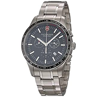 Victorinox Alliance Sport Chronograph Cuarzo – Reloj (Reloj de pulsera, Masculino, Acero inoxidable, Acero inoxidable, Acero inoxidable, Acero inoxidable)