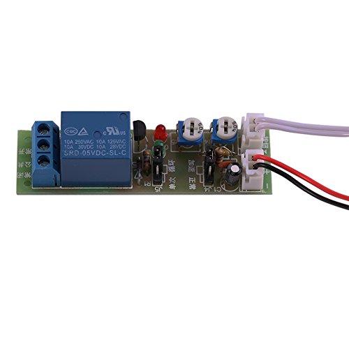 1 Stück einstellbare Schalter Zeitschaltuhr Dreirad Ein-/Ausschalter DC 5V / 12V / 24V 0-15 min / 0-60 min(DC5V, 0-60min)