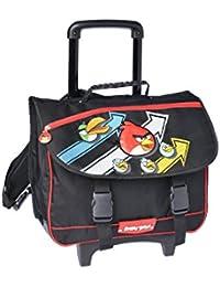Angry Birds Bolso escolar, negro (Negro) - AHB13006