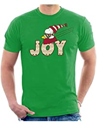 9a060fb8d Peanuts Snoopy Christmas Joy Men's T-Shirt