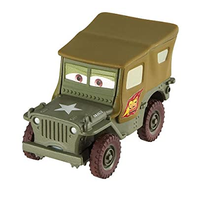 Disney Pixar Cars 2 Race Team Sarge # 15 por Mattel