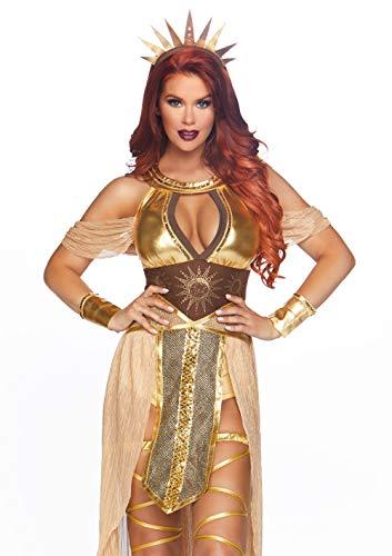 Leg Avenue 86817 Kostüm, Damen, gold, S