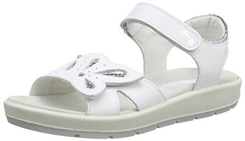 Primigi Wamba, Sandales ouvertes fille Blanc - Weiß (BIANCO/ARGENTO)