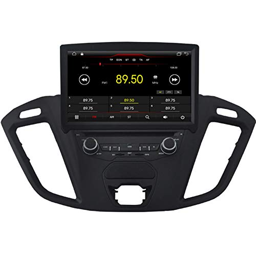 Autosion Android 8.1 Auto DVD Player GPS Stereo HeadUnit Navi Radio Multimedia WiFi für Ford Tourneo Transit Custom 2013 2014 2015 2016 2017 Lenkradsteuerung