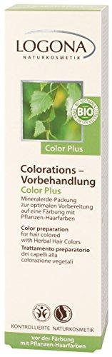 Color Plus Vorbehandlung für Coloration mit Pflanzenhaarfarbe - Intensive Pflege & optimales Farbergebnis