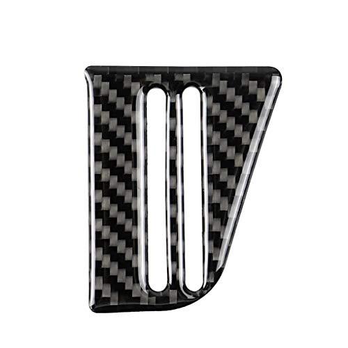 plzlm Carbon-Faser-Wasser-Becherhalter-Panel-Abdeckung Trim Ersatz für Lavida 2015-2016 Fahrzeugtyp -