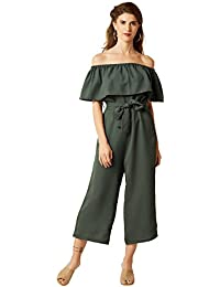 080090db0360 Amazon.in  Greens - Jumpsuits   Dresses   Jumpsuits  Clothing ...