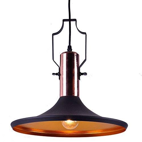 Suspensions Luminaire,MSTAR E27 Métal Retro Lampe Industriel Vintage Plafonnier Luminaire Antique Pendante éclairage Vintage Aluminium Plafond Lustre Plafonnier Lampe LED Antique Suspensions Luminaire