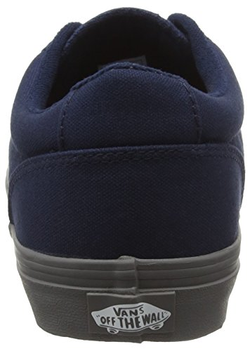 Vans Winston, Baskets Basses Homme Bleu (Check Liner Dress Blue/Tornado)