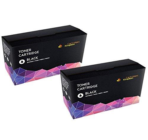 Cartridges Kingdom 2-er Pack Schwarz Toner kompatibel zu HP CF210X 131X für HP Laserjet Pro 200 Color M251n, M251nw, MFP M276n, MFP M276nw (131 Hp Tonerkassette)