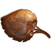 Cuenco de madera hecho a mano Boulevarte | Cuenco de nogal tallado | Cuenco decorativo | Cuenco decorativo antiguo | Decoración de diseñador de cuenco ...