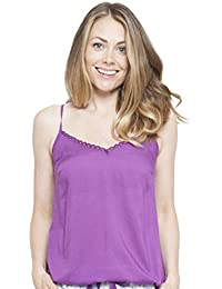 Cyberjammies 4099 Womens Andrea Purple Pyjama Top
