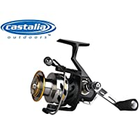 Castalia Trout Catcher II 2500 FD Station/ärrolle f/ür Forellen Angelrolle Forellenrolle zum Forellenangeln