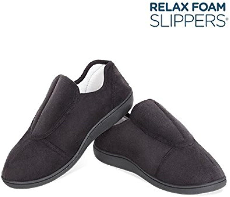 Con memoria de forma – Zapatillas Pantuflas ergonómico talla – L