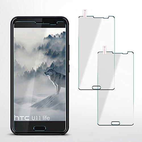 MoEx 2X OneFlow 9H Panzerfolie für HTC One S9 Panzerglas Display Glasfolie [Tempered Glass] Screen Protector Glas Displayschutz-Folie für HTC One S9 Schutzfolie