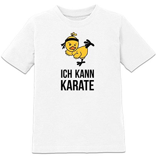 Shirtcity Ich kann Karate Kinder T-Shirt by
