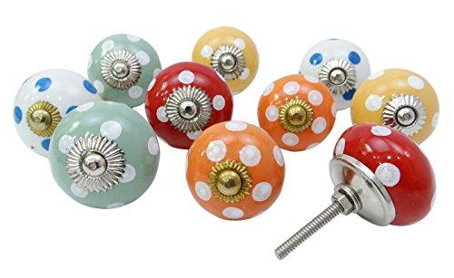 vintage-hand-gemalte-hardware-keramik-kuchen-schubladenschrank-pull-knopfe