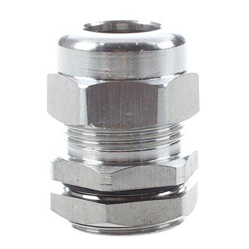 SODIAL(R) PG13.5 Wasserdichte Edelstahl 6-11mm Durchmesser Kabeldurchfuehrung Kabelstecker -