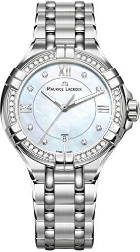 Maurice Lacroix AIKON AI1004-SD502-170-1 Montre Bracelet pour femmes Fabriqué en Suisse