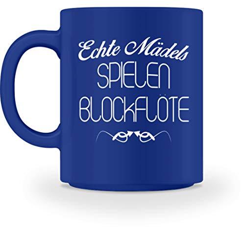 �dels T-Shirt Hobby Musikinstrument Blasinstrument Mädchen Shirt Lustige - Tasse -M-Royal Blau ()