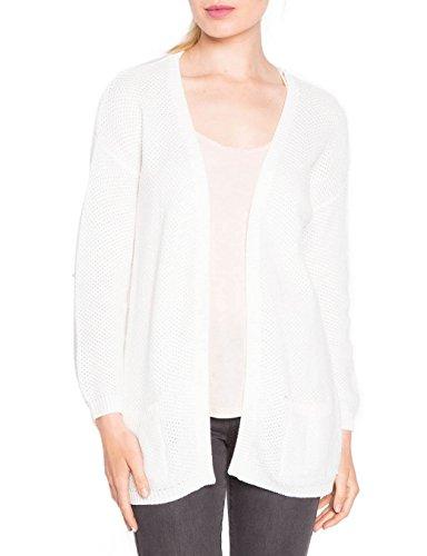 Cache Cache, Gilet Femme Blanc (Blanc de Blanc)
